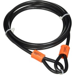 Burg Wachter 850C Double Loop Security Cable 500cm x 8mm