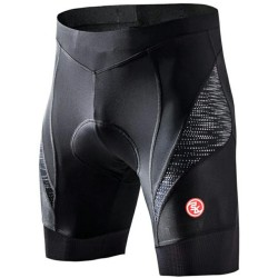 Souke Sports Mens Eco-Daily 4D Padded Bicycle Shorts Black XL