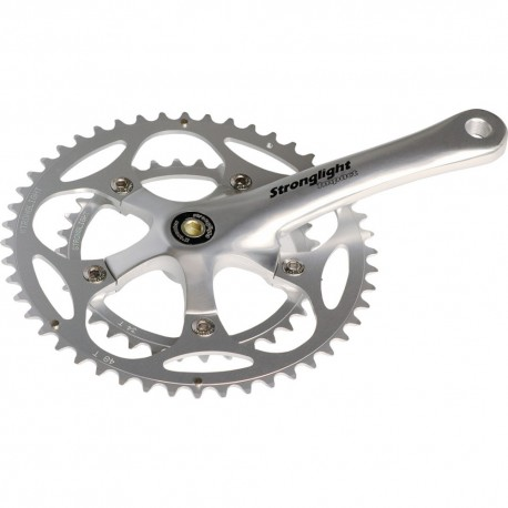 Stronglight Impact Compact Crankset 50-34T 172.5mm Silver 9/10 speed