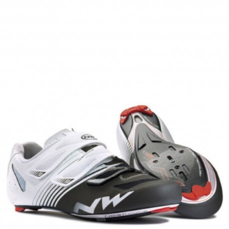 NorthWave Torpedo 3S Cycling Shoes Size 48 White/Black