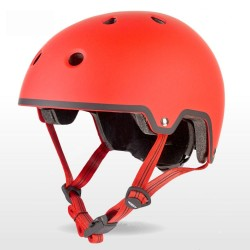Micro Childrens Lightweight Deluxe Helmet Red Small 48-54cm