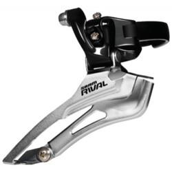 SRAM Rival Front Mech/Derailleur 34.9mm Clamp - Black