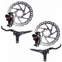 Clarks M2 Hydraulic Disc Brake Front and Rear Set Black 160mm