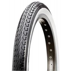 CST C97N General Style White Wall Bicycle Tyre 16 x 1.75 inch