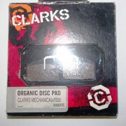 Clarks CMD-6 Organic Disc Brake Pads VX837C
