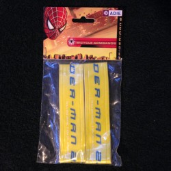 Spider-Man 2 Reflective Arm Bands Hi Vis Child Kids Junior Safety Velcro Yellow