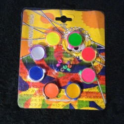 Spokey Joe Retro Multi Coloured Spoke Spinners