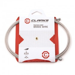 Clarks MTB/Hybrid Road Stainless Steel Dual End Brake Cable Wire