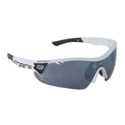 Force Race Pro Cycling Sun Glases - White