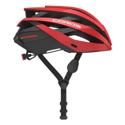 Coros Omni Matte Red Smart Cycling Helmet Size Large 59-63cm