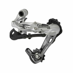 Sram X5 9 Speed Rear Mech/Derailleur Long Cage Silver