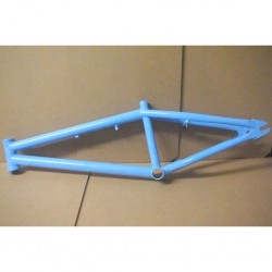 Coyote 4130 Chromoly Cr-Mo BMX bike frame in Powder Blue