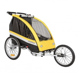 WeeRide Delux Tag Along 3-in-1 Cycle Trailer Jogger Stroller