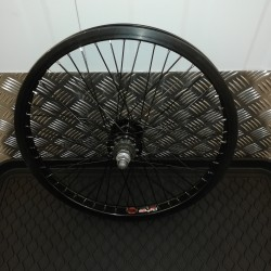 Raleigh Diamond Back 48 Spoke Rear BMX 20 inch Wheel with 12T Driver BLACK