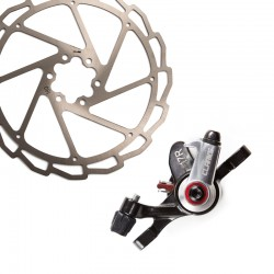 Clarks Road or MTB Mechanical Disc Brake Caliper and 160mm Rotor