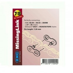 KMC 7/8 Speed Missing Chain Links - Pair