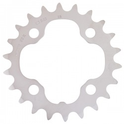 Shimano Deore FC-M532 Chainring 22T Silver 64mm PCD
